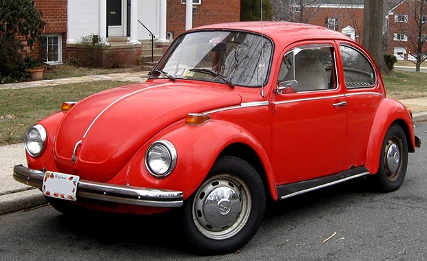 Volkswagen'in Beetle modeline elektrikli alternatif